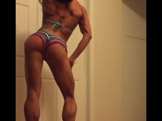 female muscle dancing