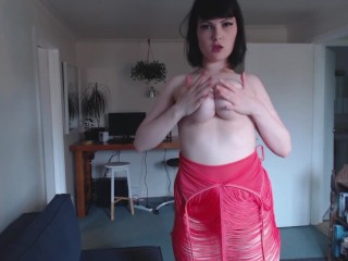 curvy walking in heels hairy pussy joi