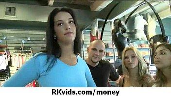 Sexy girls fucking for money 14