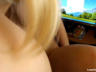 Blonde And Brunette Record Their First Sex Tape