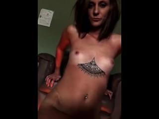 A little strip tease